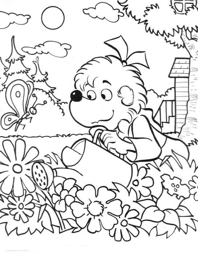 Disegno giardino_giardini_4 misti da colorare