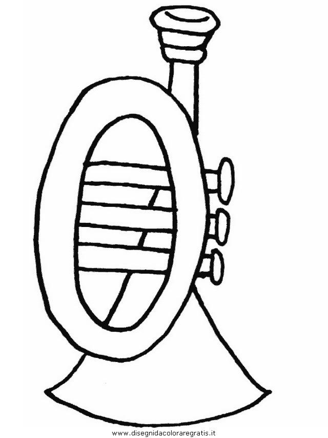 Disegno tromba234: misti da colorare