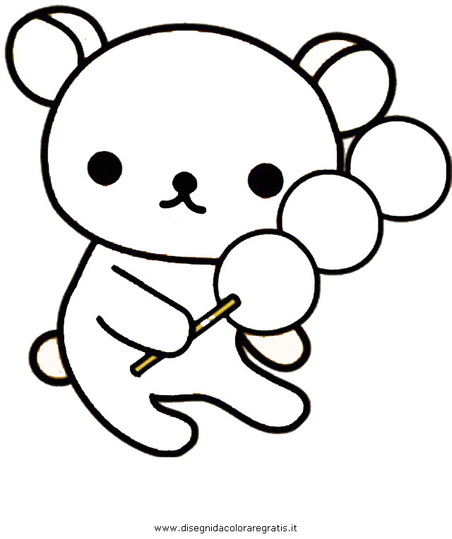 Squishies Coloring Pages