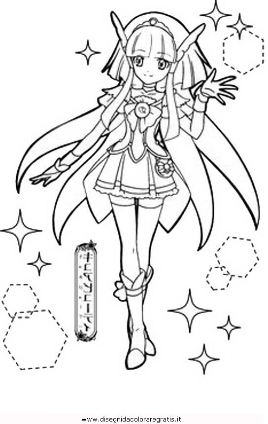 Immagini Pretty Cure Da Colorare