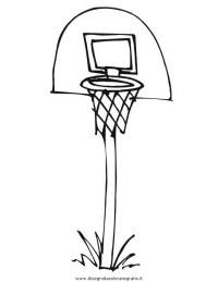 Disegno pallacanestro_19 categoria sport da colorare
