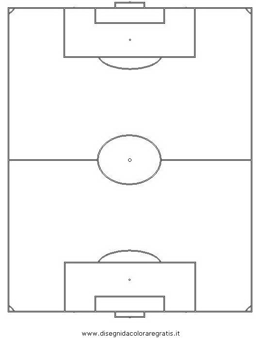 Disegno campo_calcio categoria sport da colorare