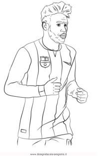 Immagini Ronaldo Da Colorare Disegno Di Lionel Messi Da