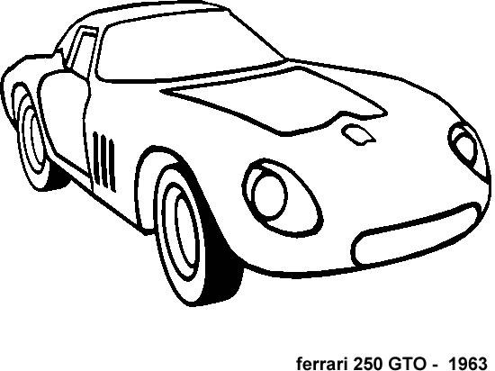 Simbolo Della Ferrari Da Colorare The Ferrari Car