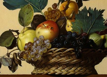 Canestra Di Frutta Di Caravaggio Disegno Pittura