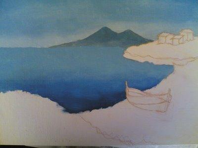 Paesaggio di Antonio Cammarata  Disegno  Pittura