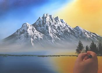 Paesaggi primaverili da dipingere  Fase 2  Disegno  Pittura