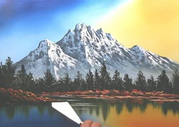 Paesaggi primaverili da dipingere  Fase 3  Disegno  Pittura