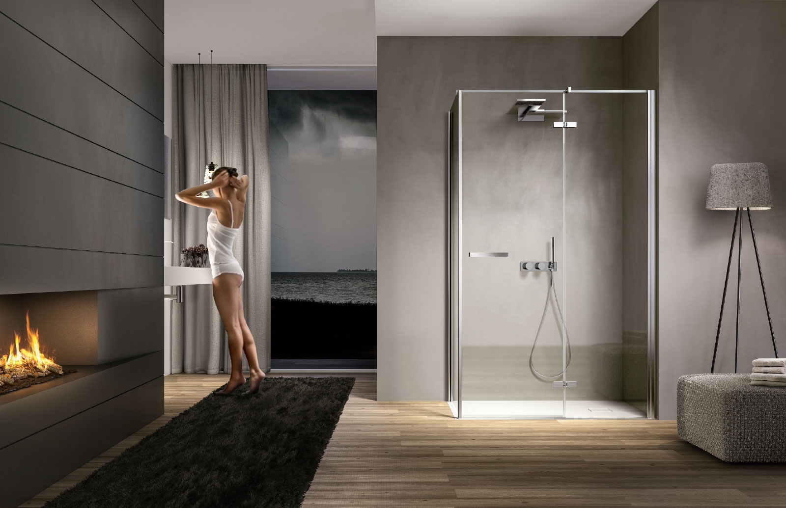Smart  Cabina doccia moderna  Disenia