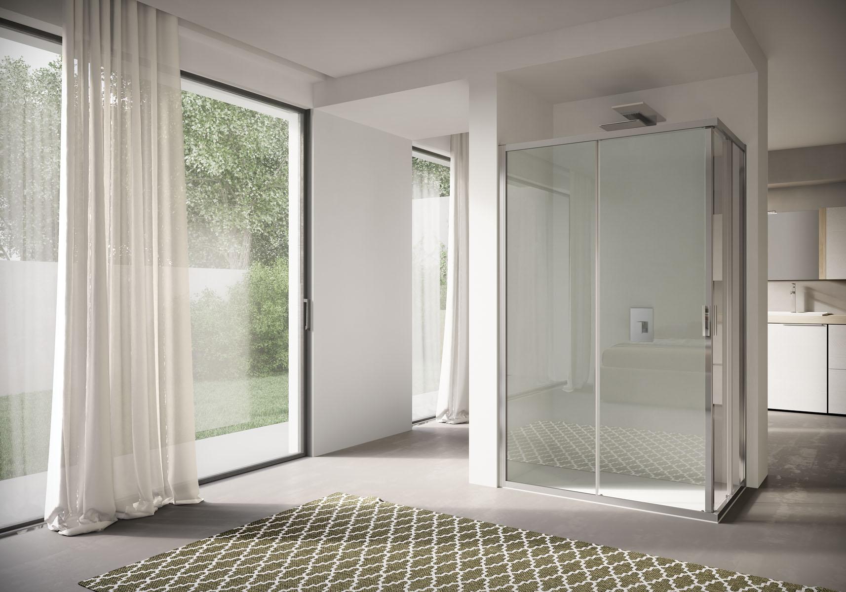 40 Box doccia rettangolare Disenia