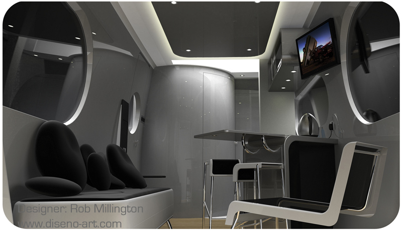 MoTel Caravan  Concept Cars  DisenoArt