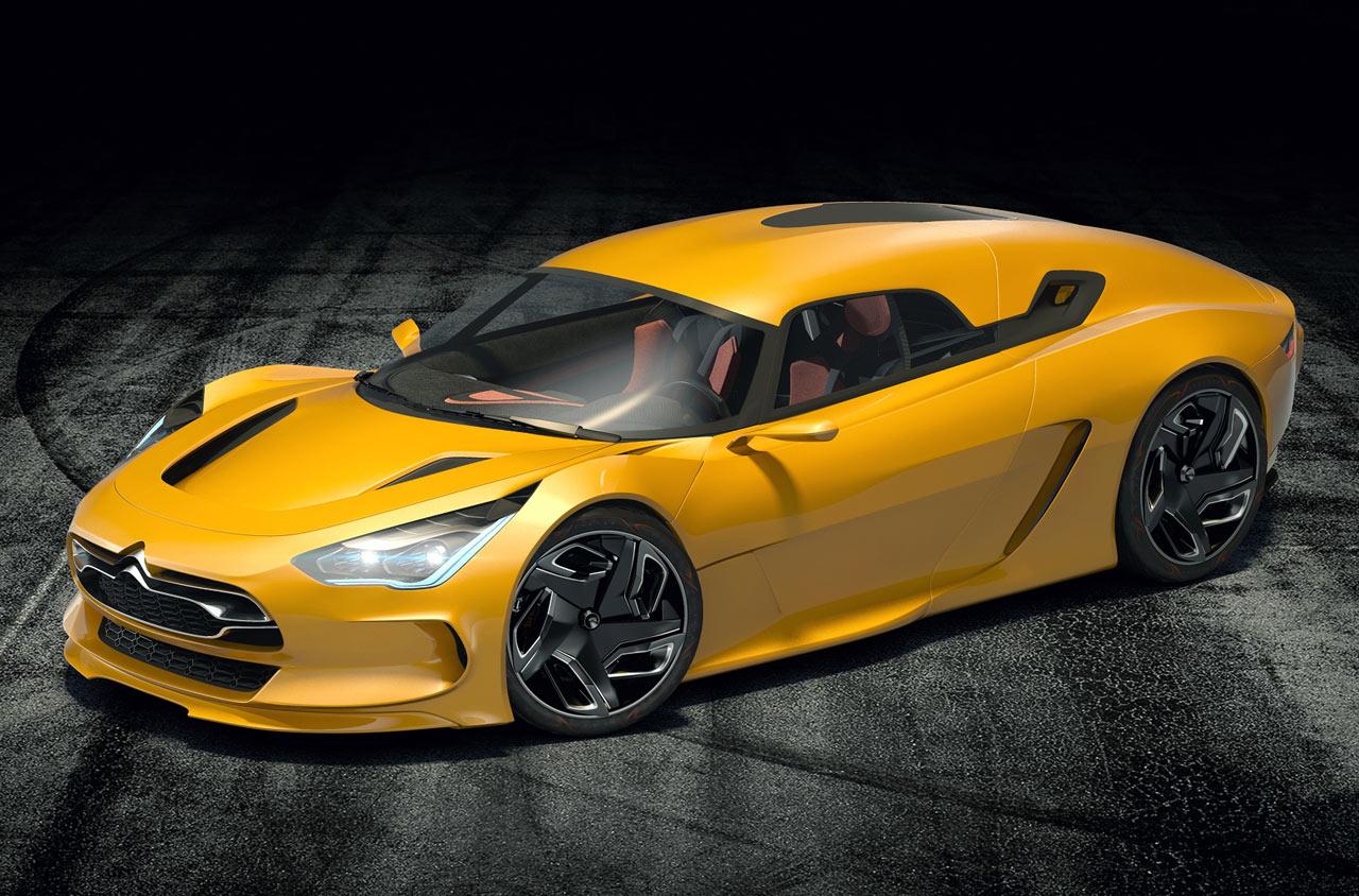 Citroen EVE Concept Cars Diseno Art