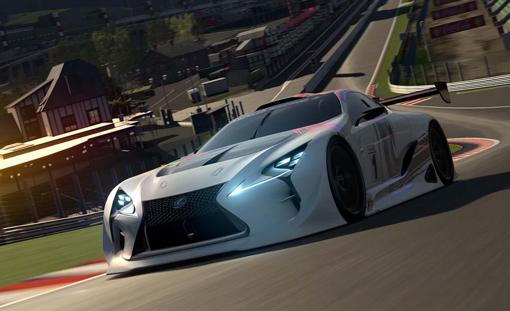 Lexus LF LC GT Vision Gran Turismo Concept Cars Diseno Art