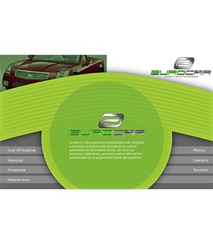 Sitio Web Eurocar