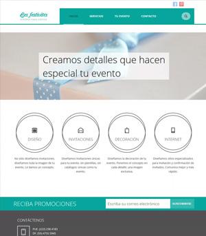 Sitio web Les Festivités