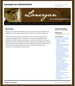Sitio Web Lonergan