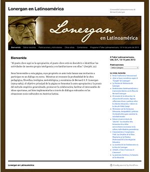 Sitio Web Lonergan