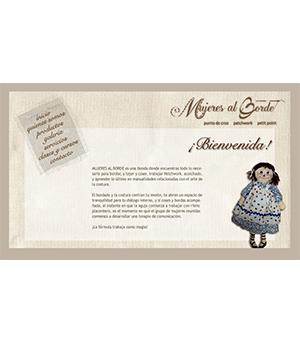 Sitio Web Mujeres al Borde