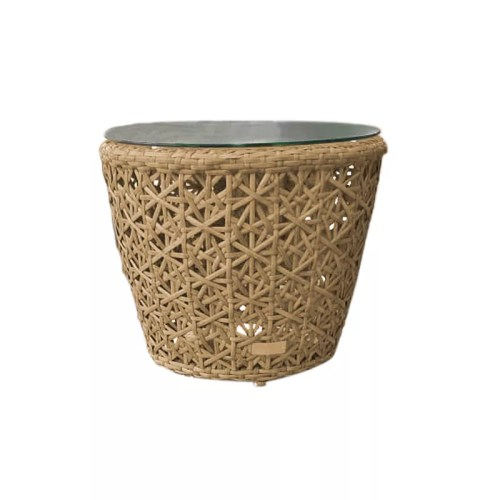 COMTE FLOWER WEAVING SIDE TABLE T041.F NATURAL