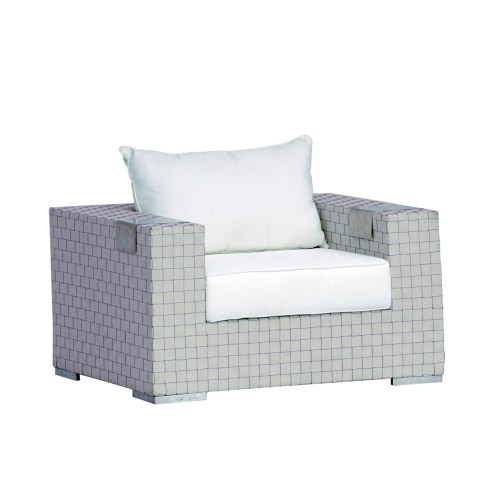 SEATER SOFA A096A silk white 1