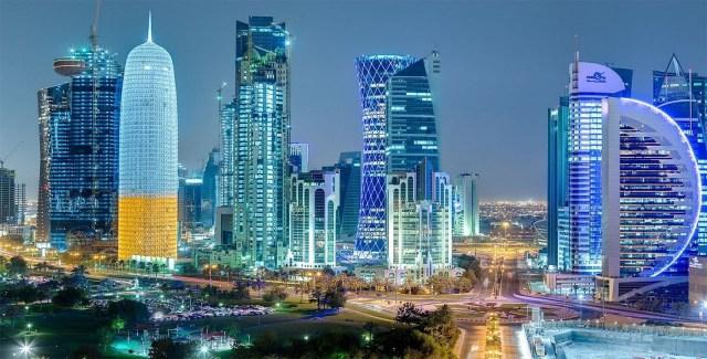Foto Skyline Doha