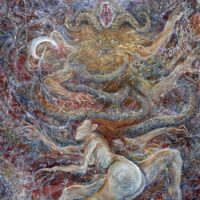 At the Altar of the Horned God - Through Doors of Moonlight