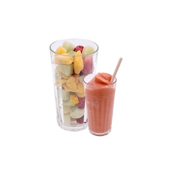 Catálogo de Fruta Congelada Zumo Fresa Mango Melón Disfruta