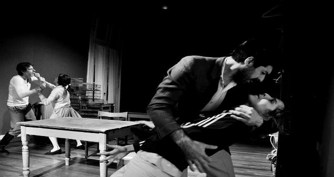 Pavón Abajo en la Fiesta Provincial del Teatro en Rosario 2015