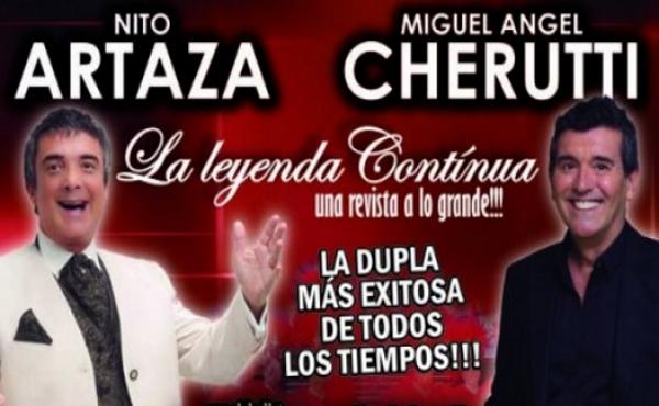 Artaza y Cherutti en Rosario 2015
