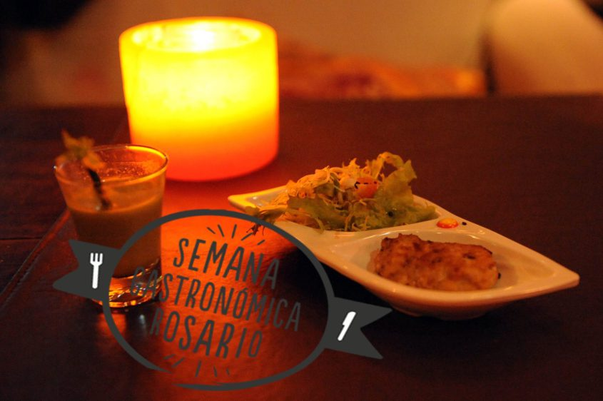 Semana Gastronómica Rosario 2015: Menu