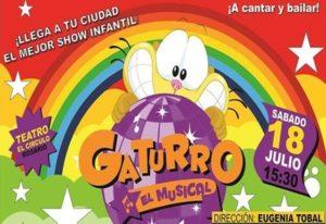 Gaturro en el Teatro El Circulo