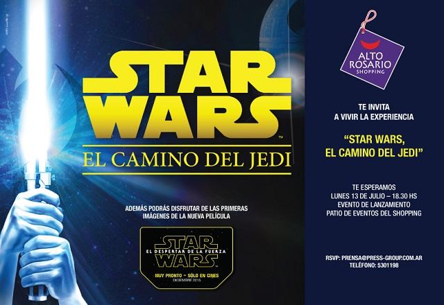 Star Wars en el Alto Rosario en vacaciones de invierno