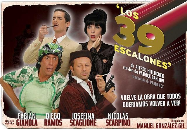 Los 39 escalones en RosarioLos 39 escalones en Rosario