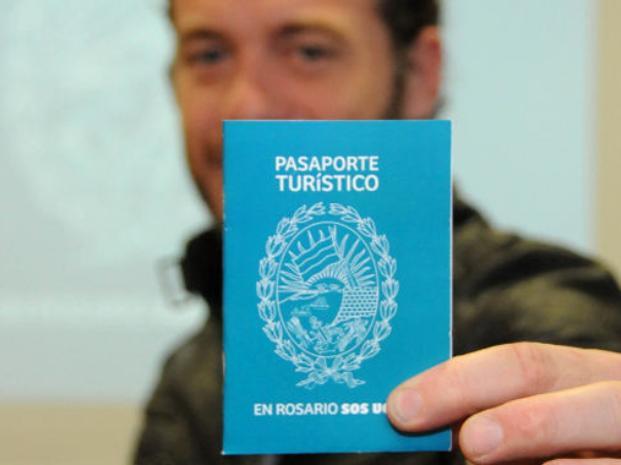 pasaporte turistico e Rosario
