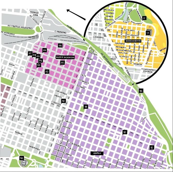 Circuito Olmedo en Rosario