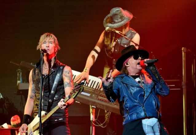 Guns N' Roses en Rosario: venta de entradas