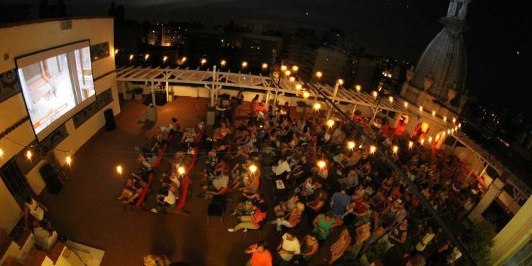 Cine al aire libre en Rosario