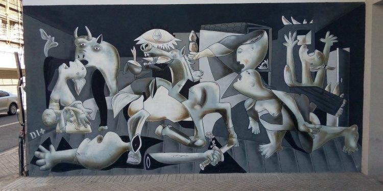 Dimas: Street art en Rosario - Maipu al 900.