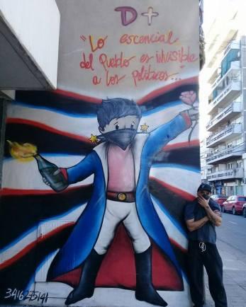 Dimas: Street art en Rosario