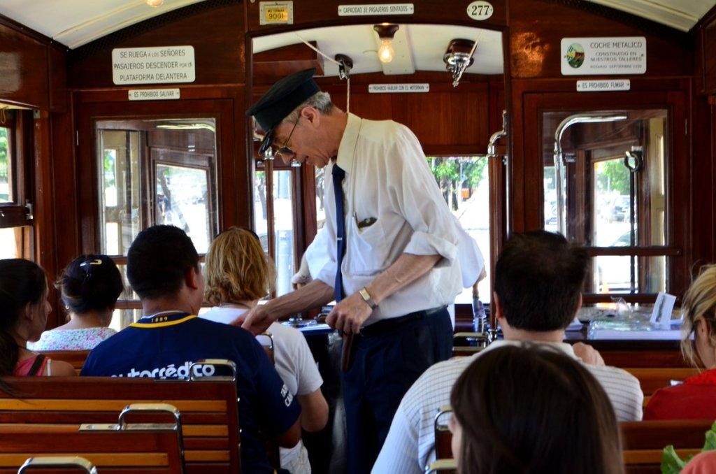 Tranvía histórico en Rosario