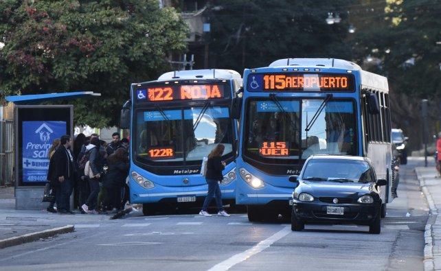 Transporte en Rosario: tarifas