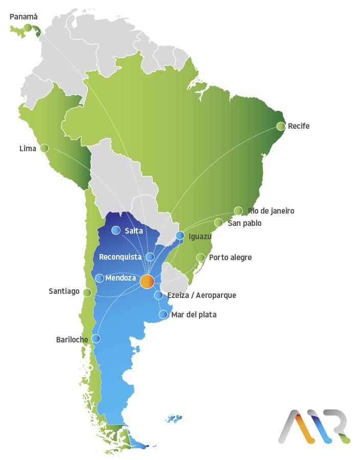 Vuelos desde Rosario