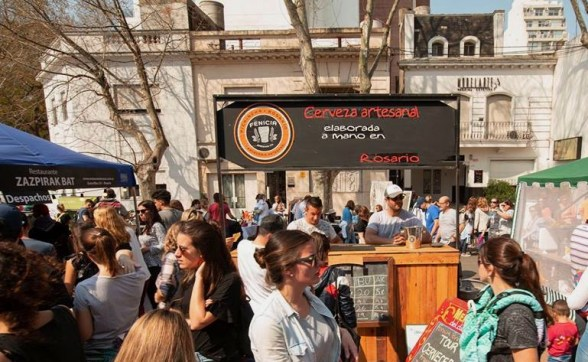 Festival de la cerveza artesanal en Rosario