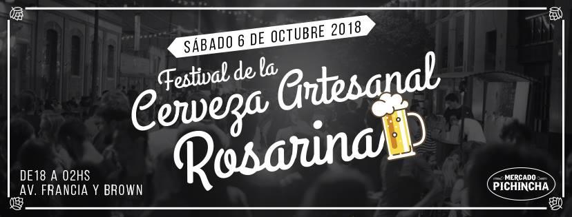 Festival de la cerveza en Rosario