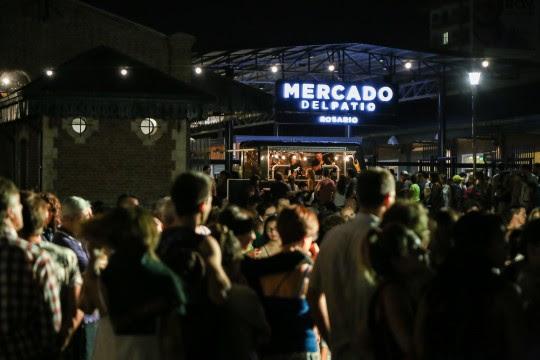 Feria gastronómica en el Mercado del Patio