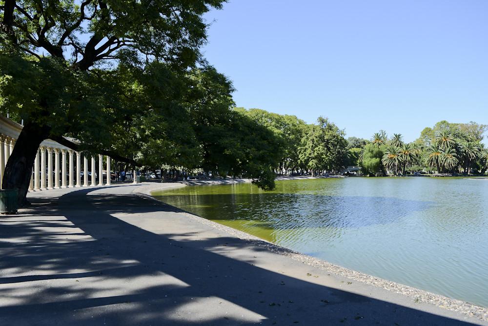 Parque de la Independencia en Rosario