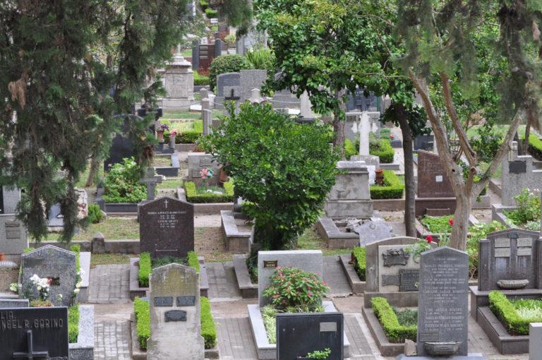 Cementerio maestras Sarmiento Rosario