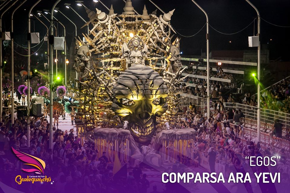 Carnaval de Gualeguaychu 2020 comparsas