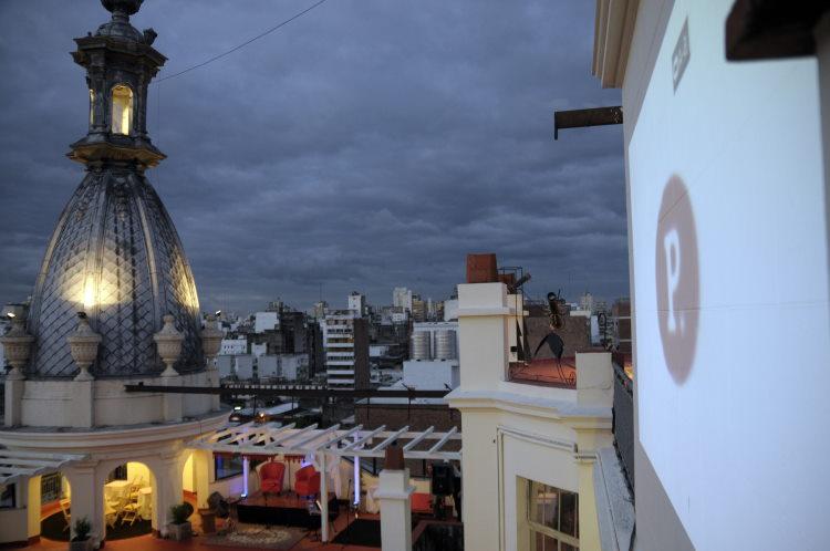 Cine al aire libre en Rosario Plataforma Lavarden