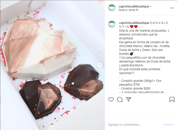 Promo San Valentin Rosario